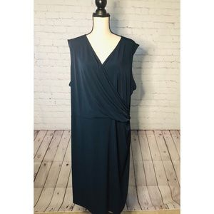 Joe Fresh Plus Sleeveless Wrap Dress 3X